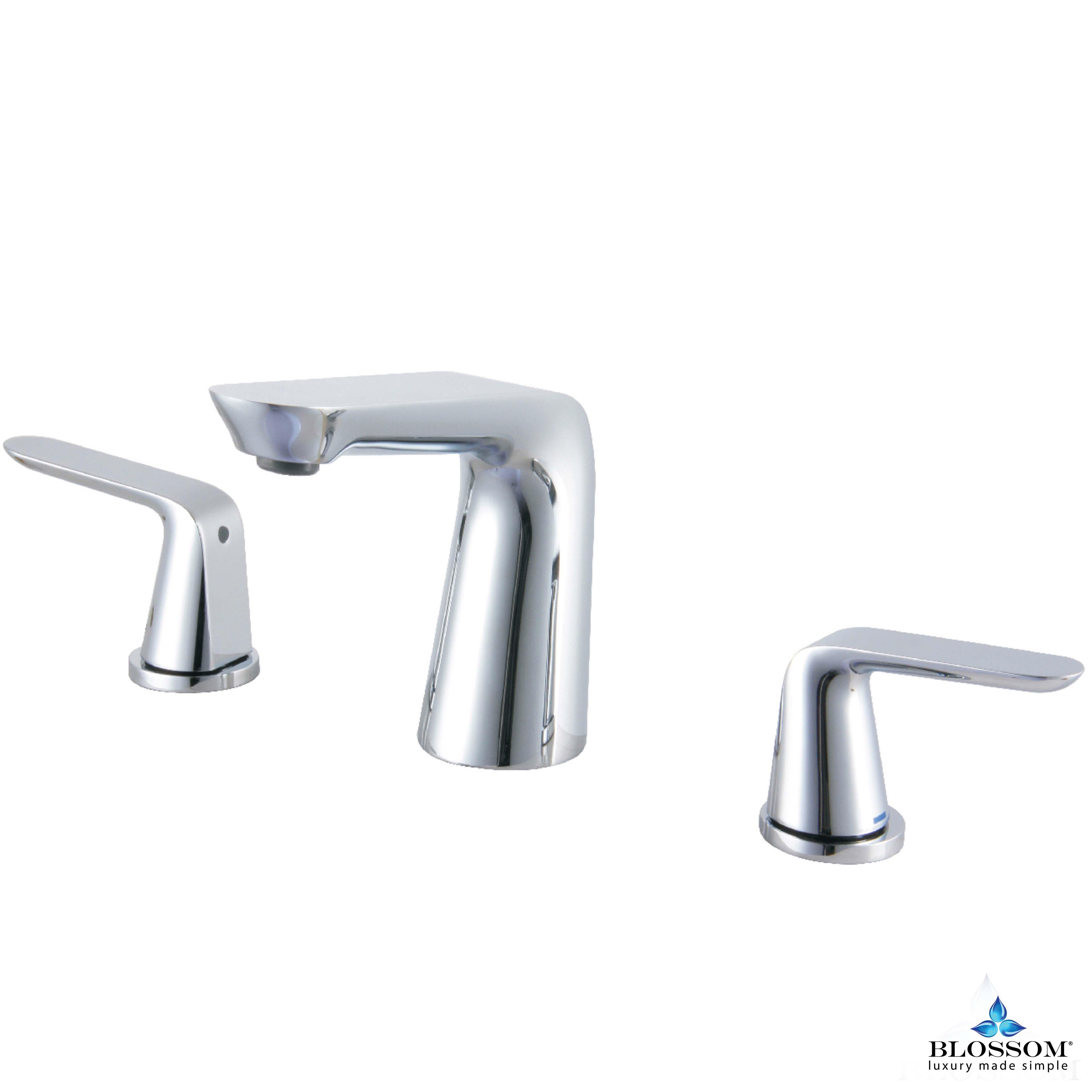 Wide Spread Lavatory Faucet - Chrome - F01 107 01 ...