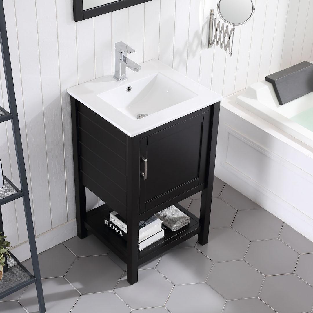Lucca 20 Inch Vanity Blossom Kitchen Bath Supply Corporation